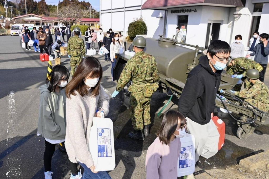 Nhật Bản thiệt hại nặng sau động đất