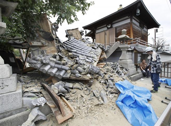 Nhật Bản tiếp tục hứng chịu động đất, nhà máy điện Fukushima rò rỉ