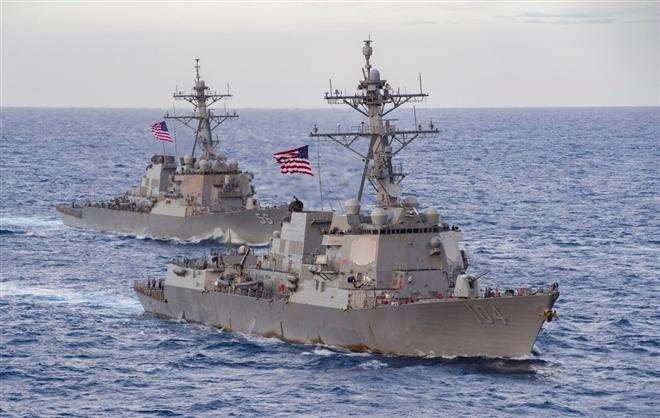 Chính quyền Biden liên tiếp 'nắn gân' Trung Quốc trong vấn đề Biển Đông - 1