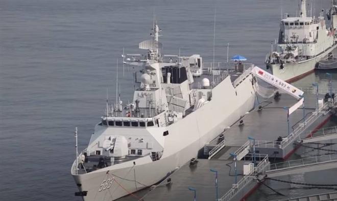 Trung Quốc đóng xong loạt tàu hộ tống Type-056/056A - 1