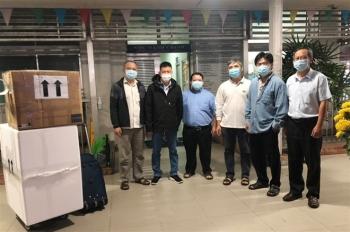 Bệnh viện Chợ Rẫy lên đường chi viện cho Hải Dương