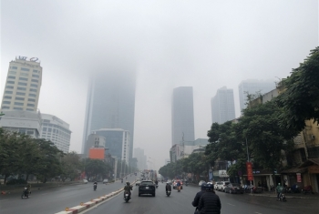 Thời tiết ngày 21/2: Không khí lạnh suy yếu, sương mù bao phủ Bắc Bộ