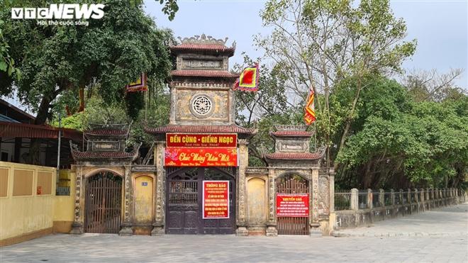 Đóng cửa phòng COVID-19, đền Bà Chúa Kho vắng khách đến 'vay lộc' đầu năm - 9