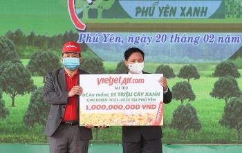 Vietjet đồng hành cùng Lễ phát động Tết trồng cây 2021
