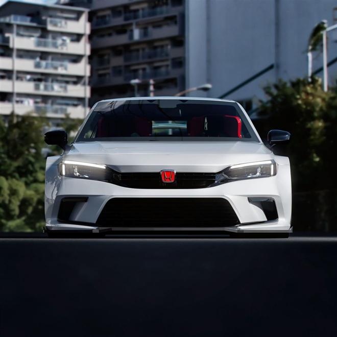 Lộ hình ảnh của chiếc Honda Civic mạnh nhất từng được sản xuất - 5