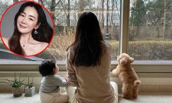 Choi Ji Woo lần đầu khoe con gái cưng