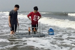 Hệ thống biến nước mặn thành nước ngọt của nam sinh Nghệ An