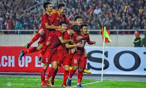 Việt Nam thắng Thái Lan 4-0