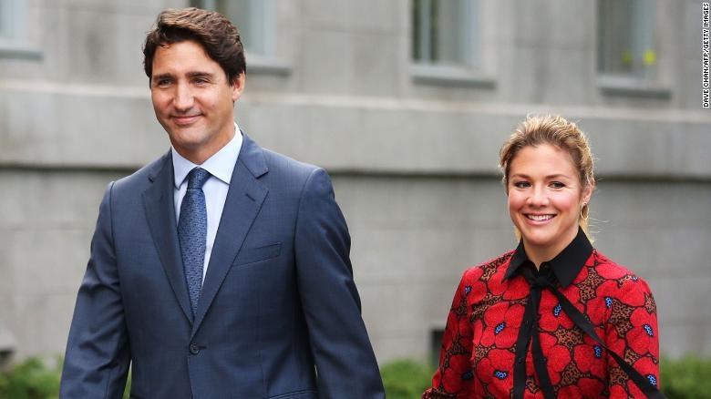 Phu nhân Thủ tướng Canada nhiễm nCoV