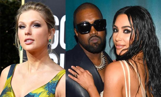 """Taylor Swift như """"sống trong địa ngục"""" vì Kim - Kanye"""