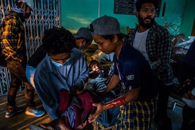 Bi kịch dân thường trong cuộc biểu tình Myanmar - 5