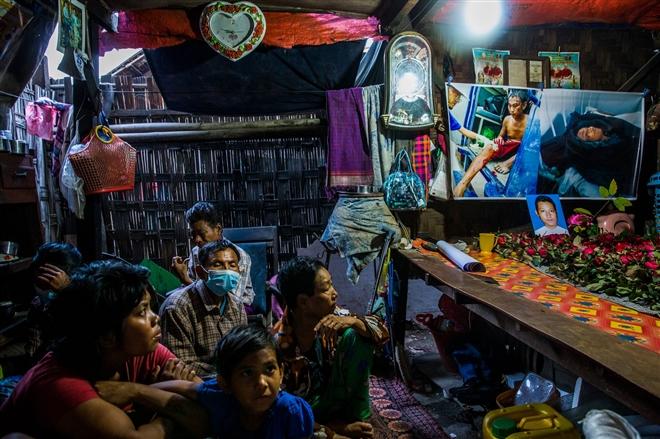 Bi kịch dân thường trong cuộc biểu tình Myanmar - 8