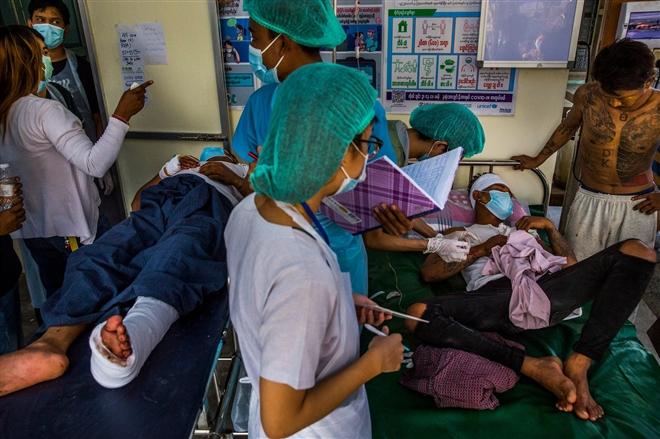 Bi kịch dân thường trong cuộc biểu tình Myanmar - 12