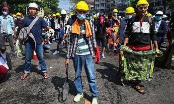 Myanmar ra lệnh không dùng đạn thật với người biểu tình