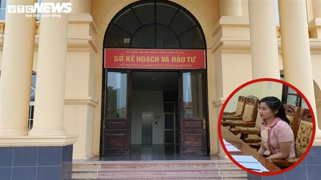 Vĩnh Phúc: Bổ nhiệm con gái Bí thư Tỉnh ủy làm Phó GĐ Sở KH&ĐT không có sức ép - 1