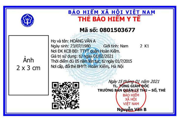 tu 1 4 nhung truong hop nao phai doi the bao hiem y te theo mau moi