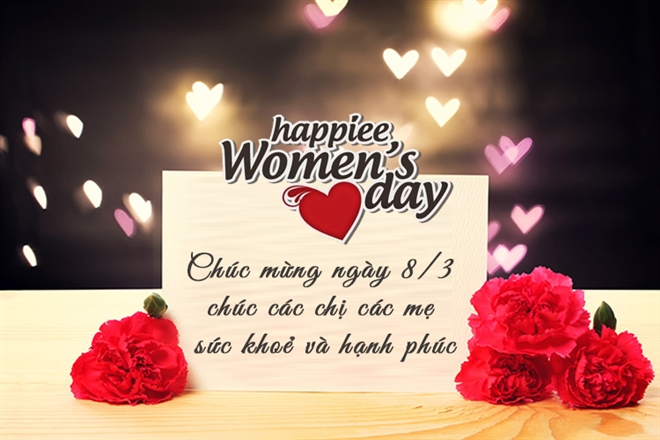 Lời chúc ngày Quốc tế Phụ nữ 8/3 hay và ý nghĩa nhất - 1