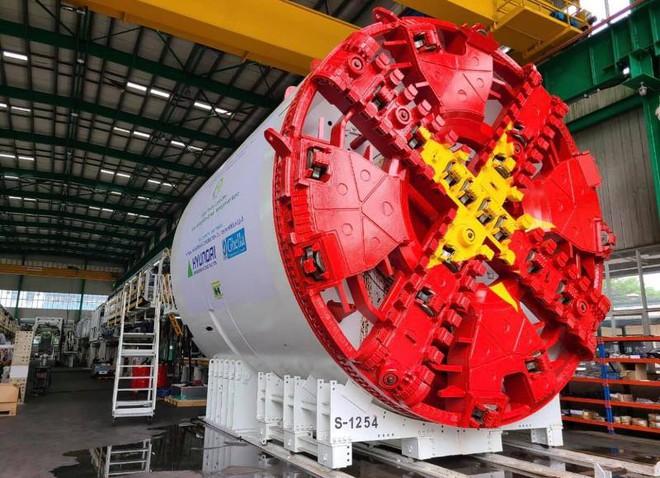 Tháng 5-2021, bắt đầu đào hầm tuyến đường sắt Nhổn - Ga Hà Nội ảnh 1