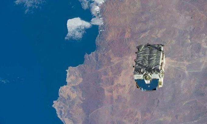 ISS vứt khối rác vũ trụ nặng 2,9 tấn