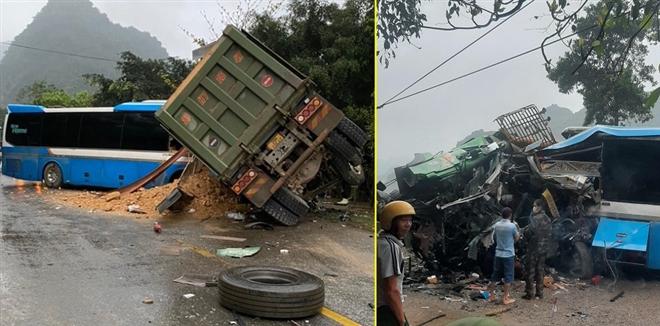 Hai ô tô đấu đầu, 3 người chết: Xe khách không có dữ liệu giám sát hành trình