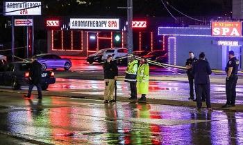 Xả súng tại ba spa Mỹ, 8 người chết