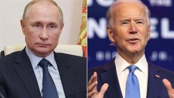 Tổng thống Nga Putin đề nghị Tổng thống Biden đối thoại trực tiếp