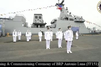 Philippines đưa thêm chiến hạm mới hoạt động ở Biển Đông