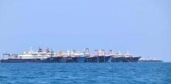 Hơn 200 tàu Trung Quốc ồ ạt xuất hiện ở Biển Đông, Mỹ lên tiếng