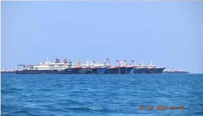 Hơn 200 tàu Trung Quốc ồ ạt xuất hiện ở Biển Đông, Mỹ lên tiếng - 1