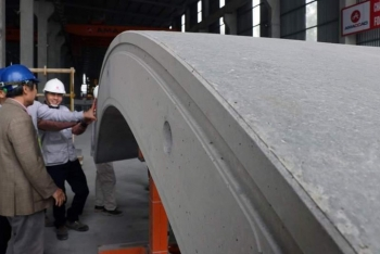 Vỏ hầm đường sắt Nhổn- Ga Hà Nội được sản xuất như thế nào?