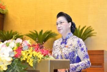 Thông qua Nghị quyết miễn nhiệm Chủ tịch Quốc hội Nguyễn Thị Kim Ngân