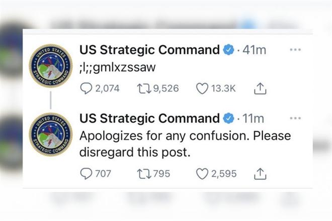 """Tweet nghi làm lộ mã phóng vũ khí hạt nhân của Mỹ là """"tác phẩm"""" của một đứa trẻ"""
