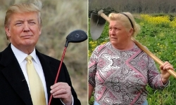 Nông phụ Tây Ban Nha bất ngờ nổi tiếng vì mái tóc giống Trump