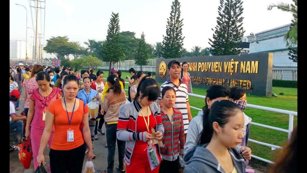 pou yuen viet nam van tra luong cho cong nhan ngung viec