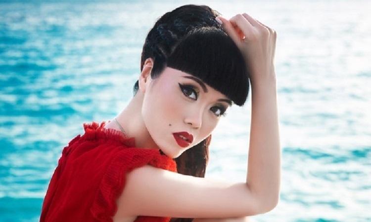 Jessica Minh Anh đóng phim hành động