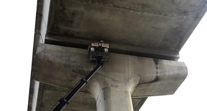 Thêm bốn gối cầu Metro Số 1 bị sự cố