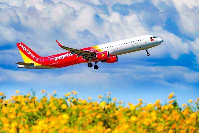 Vietjet khai thác trở lại bốn đường bay quốc tế
