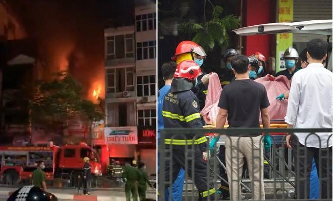 Nguyên nhân vụ cháy lớn làm 4 người chết ở Hà Nội