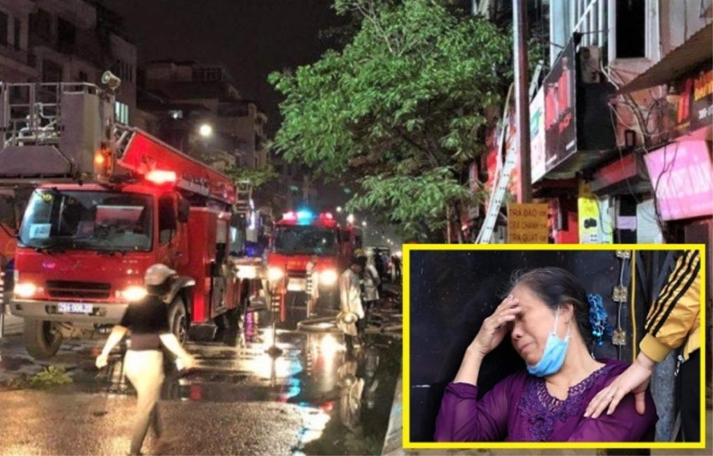 """Mẹ nạn nhân gia đình 4 người chết cháy ở Hà Nội: """"Tôi mất hết con cháu rồi"""""""