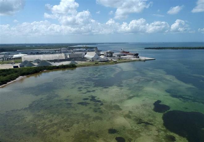 Florida cảnh báo nguy cơ vỡ bức tường nước hồ chứa chất thải cao 6m - 1