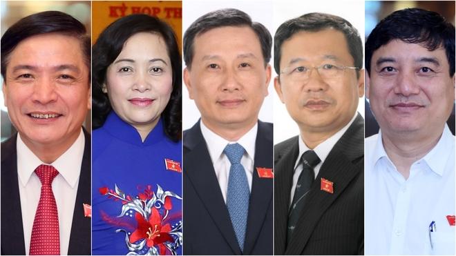 Bầu 5 ủy viên Ủy ban Thường vụ Quốc hội
