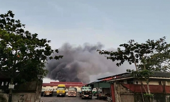 Nhiều vụ nổ ở Myanmar, thêm nhà máy Trung Quốc bị đốt