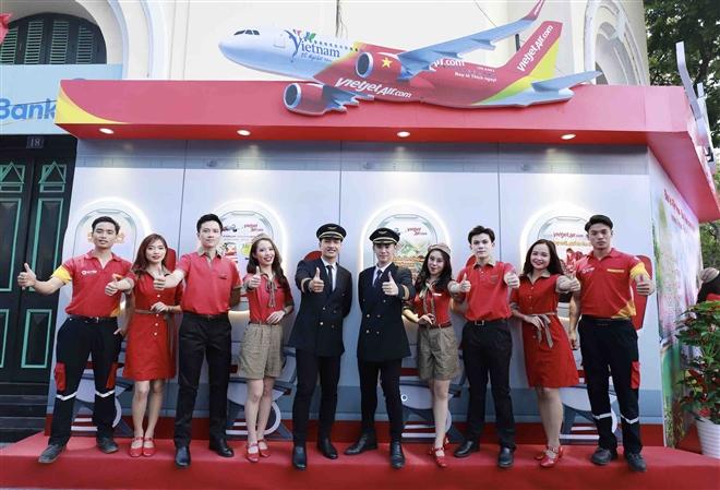 Vietjet tham gia Lễ hội kích cầu du lịch Hà Nội năm 2021 - 1