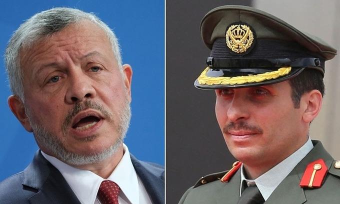 Cuộc chiến tranh quyền đoạt vị trong hoàng gia Jordan