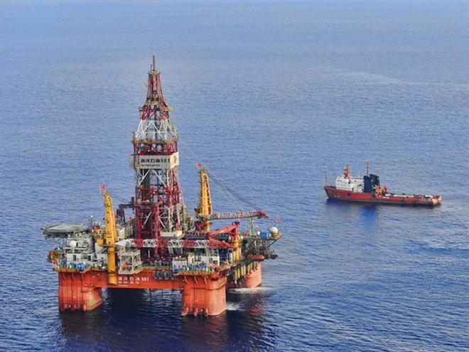 Tân Hoa Xã: Trung Quốc khoan sâu xuống Biển Đông để thăm dò khí tự nhiên
