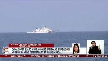 Phóng viên Philippines nói bị tàu tên lửa Trung Quốc bám theo ở Biển Đông