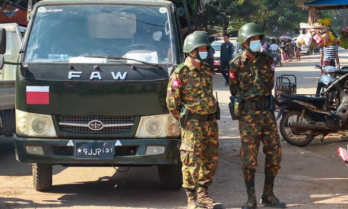 LHQ tố an ninh Myanmar dùng vũ khí hạng nặng chống biểu tình