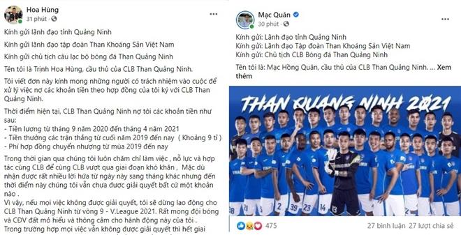 Than Quảng Ninh nợ lương cầu thủ suốt 8 tháng: Vì sao VFF, VPF làm ngơ? - 1