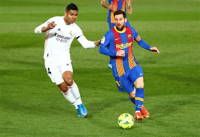 Messi im tiếng, Barca bị Real Madrid chiếm ngôi đầu  - 2