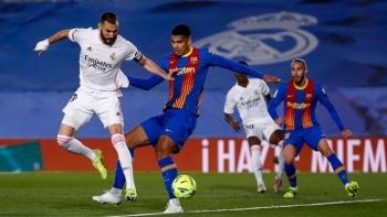 Messi im tiếng, Barca bị Real Madrid chiếm ngôi đầu